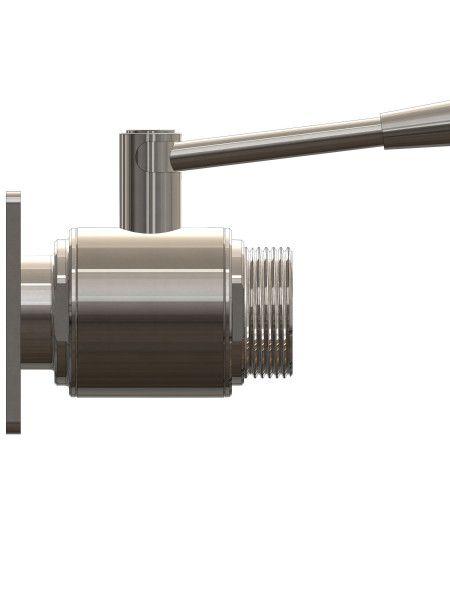 ART 817 - Sestav - Krogelni ventil 6-4-KV 100X100 - ZUNAJNI MACON DIN